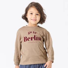 5色5柄Go to the world Tシャツ (ベージュ)