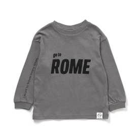 5色5柄Go to the world Tシャツ (グレー)