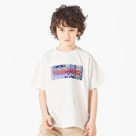 クレイジーボックスロゴTシャツ (オフホワイト)