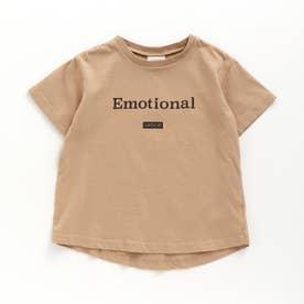 半袖ロゴTシャツ (ベージュ)