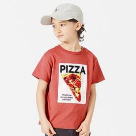 3柄ファストフードTシャツ (レッド)