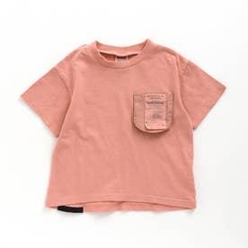 ピグメントチケットTシャツ (ピンク)
