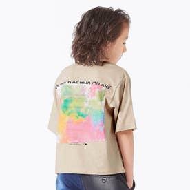 テキスタイルリンクTシャツ (ベージュ)