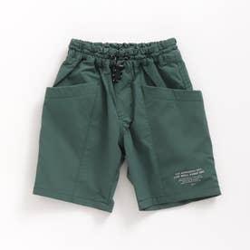WEB限定 タフサイドポケットパンツ_5分丈 5分丈 (カーキ)
