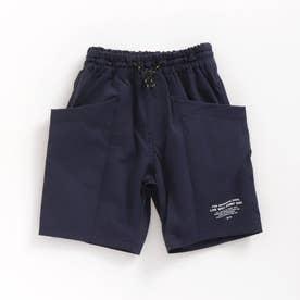 WEB限定 タフサイドポケットパンツ_5分丈 5分丈 (ネイビーブルー)