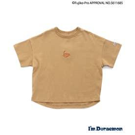 【I'm Doraemon】TIMEMACHINE Tシャツ (キャメル)