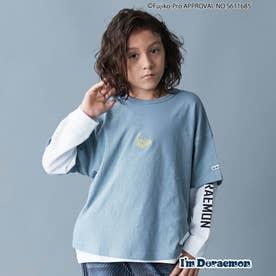 【I'm Doraemon】TIMEMACHINE Tシャツ (サックス)