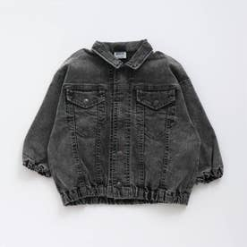 すぽ軽 デニムジャケット (ブラック)