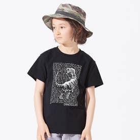 3柄ダイナソーロゴTシャツ (ブラック)