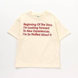 6柄5分袖Tシャツ (オフホワイト)