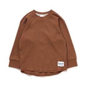 サーマルTシャツ (キャメル)