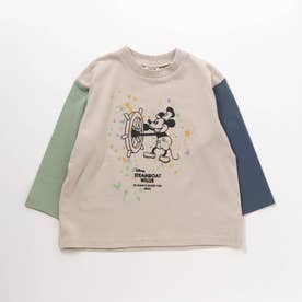 ディズニーキャラクター Tシャツ (ライトグレー)