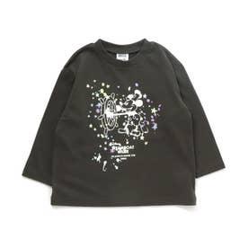 ディズニーキャラクター Tシャツ (チャコール)