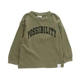 4柄5色Tシャツ (カーキ)