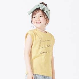 3柄3色ノースリーブTシャツ (イエロー)