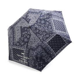 2柄折り畳み傘 (ネイビーブルー)