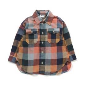 チェックシャツ (レインボー)