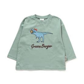 ダイナソーバーガーTシャツ (グリーン)
