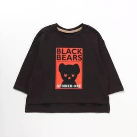 WEB限定 BLACK BEAR Tシャツ(ブラック・ベア) (ブラック)