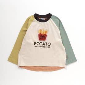 4色4柄フードサガラTシャツ (アイボリー)
