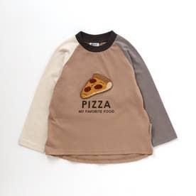 4色4柄フードサガラTシャツ (ベージュ)