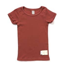 フライス半袖Tシャツ (ローズピンク)