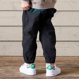 カラービッグポケットパンツ 10分丈 10分丈 (ブラック)