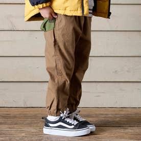 カラービッグポケットパンツ 10分丈 10分丈 (キャメル)