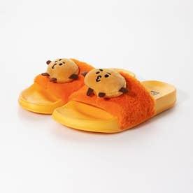 glitter BTS モチーフ付きサンダル (オレンジ)