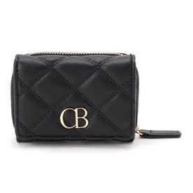 CBモノグラムミニウォレット (ブラック)