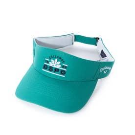 メンズ ゴルフ サンバイザー モチーフサンバイザー 2411191513 (グリーン)