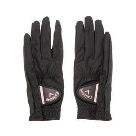 レディース ゴルフ グローブ Nail Dual Glove WMS 21JM 4518289580 (ブラック)