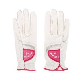 レディース ゴルフ グローブ Style Dual Glove WMS 21JM 4518289023 (ホワイト)