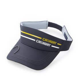 レディース ゴルフ サンバイザー 21W7CW Caps07 Visor Athle_ 3546206794 (ネイビー)