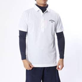 メンズ ゴルフ セットシャツ 18MFCW トリコットピケ APベッチュウシャツ+インナーセット 2418257511