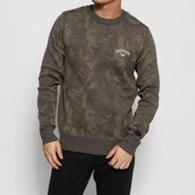 メンズ ゴルフ 長袖セーター カモジャカードクルーネックニット 2419260501