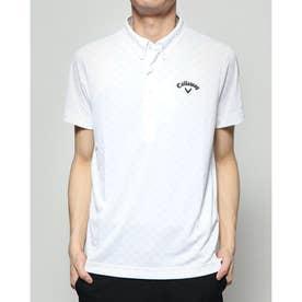 メンズ ゴルフ 半袖シャツ 半シャツBDカラーシャツ肌ドライPPクラブスター 2410134526