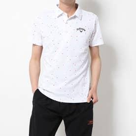 メンズ ゴルフ 半袖シャツ カラーシャツ肌ドライ200cc桜風吹 2410134514