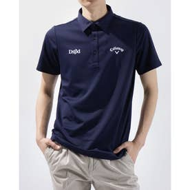 メンズ ゴルフ 半袖シャツ 半袖シャツカノコ 2411134500 (ネイビー)