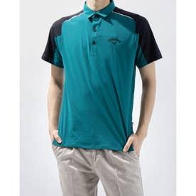 メンズ ゴルフ 半袖シャツ 半袖シャツ天竺 2411134503 (グリーン)