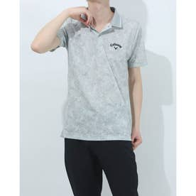 メンズ ゴルフ 半袖シャツ 半袖シャツメッシュカノコ 2411134529 (グレー)