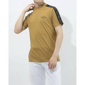 メンズ ゴルフ 半袖シャツ 半袖シャツスクエアメッシュ 2411134522 (ベージュ)