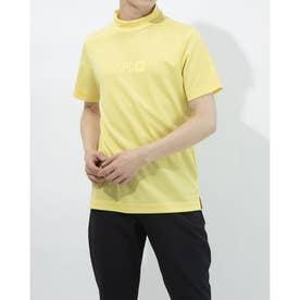 メンズ ゴルフ 半袖シャツ 半袖モックシャツWIND SENSORロゴPT 2411134544 (イエロー)