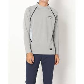 メンズ ゴルフ 長袖シャツ 21M8CW LS Shirts05 High Neck_ 3546210814 (グレー)