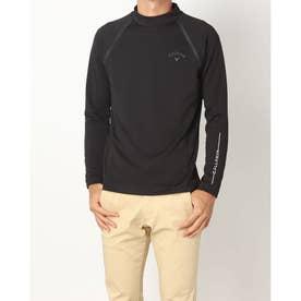 メンズ ゴルフ 長袖シャツ 21M8CW LS Shirts05 High Neck_ 3546210777 (ブラック)