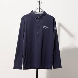 メンズ ゴルフ 長袖シャツ 21M8CW LS Shirts00 No Mark_ 3546209719 (ネイビー)