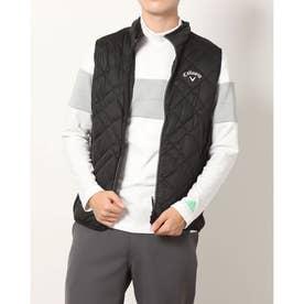 メンズ ゴルフ 中綿ベスト 21M8CW Vests00 ST/ST Padding_ 3546220752 (ブラック)