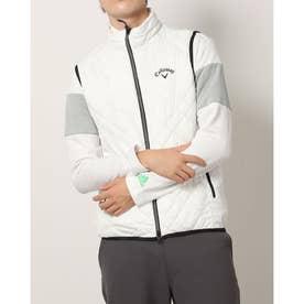 メンズ ゴルフ 中綿ベスト 21M8CW Vests00 ST/ST Padding_ 3546220875 (ホワイト)