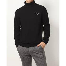 メンズ ゴルフ 長袖セーター 21M9CW Sweater09 Turtleneck_ 3546219862 (ブラック)