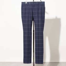 メンズ ゴルフ ロングパンツ 21M9CW Pants10 Twill Check_ 3546224118 (ネイビー)